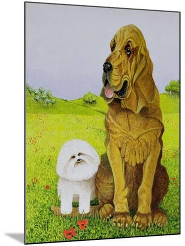 In Charge-Pat Scott-Mounted Giclee Print
