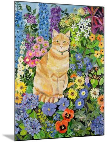Gordon's Cat, 1996-Hilary Jones-Mounted Giclee Print