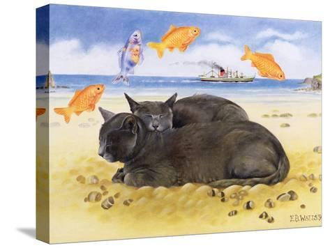 Fish Dreams, 1997-E.B. Watts-Stretched Canvas Print
