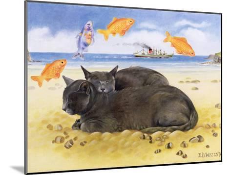 Fish Dreams, 1997-E.B. Watts-Mounted Giclee Print