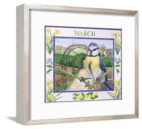 March-Catherine Bradbury-Framed Art Print