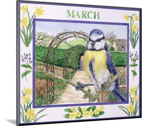 March-Catherine Bradbury-Mounted Giclee Print