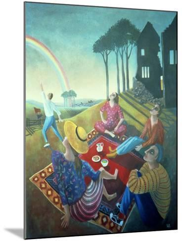 The Rainbow, 1990-Lucy Raverat-Mounted Giclee Print