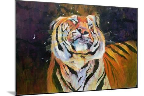 Tiger (Shaking Head) 1996-Odile Kidd-Mounted Giclee Print