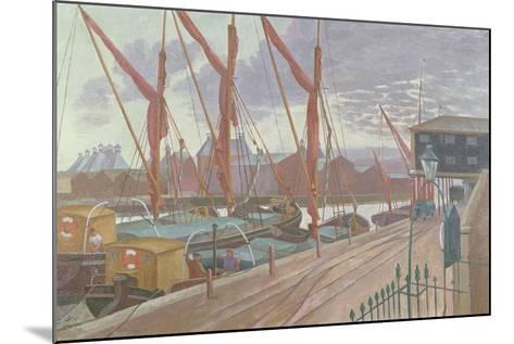 Ipswich Docks-John Northcote Nash-Mounted Giclee Print