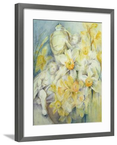 Stourhead Daffodils-Karen Armitage-Framed Art Print