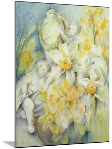 Stourhead Daffodils-Karen Armitage-Mounted Giclee Print