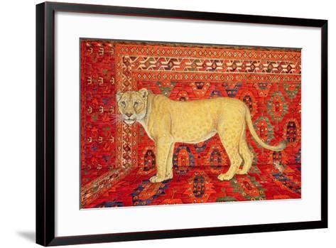 The Carpet-Mouse-Ditz-Framed Art Print