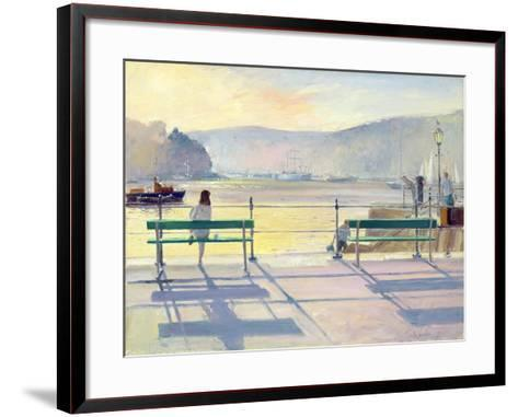 Harbour View, 1991-Timothy Easton-Framed Art Print