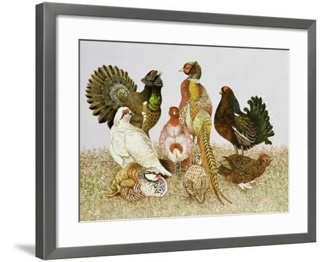 Game Birds-Pat Scott-Framed Art Print