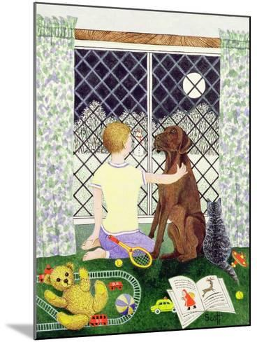 Friends Forever-Pat Scott-Mounted Giclee Print