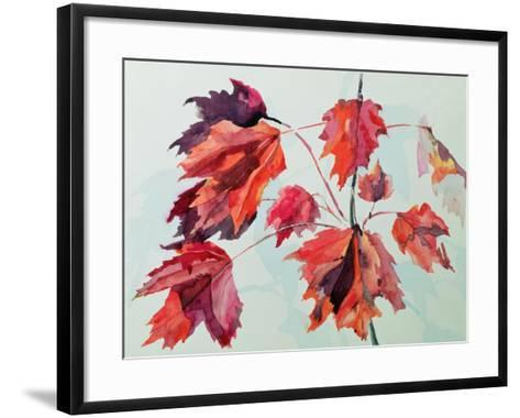 No.24 Autumn Maple Leaves-Izabella Godlewska de Aranda-Framed Art Print