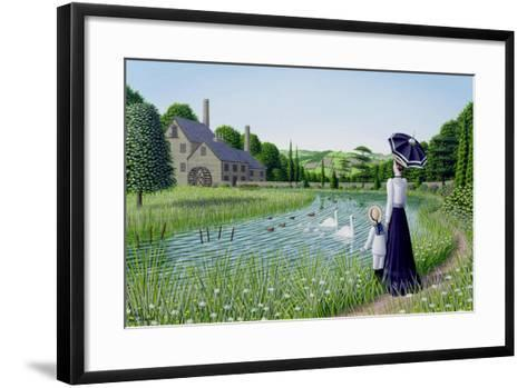 By the Old Mill, 1996-Peter Szumowski-Framed Art Print