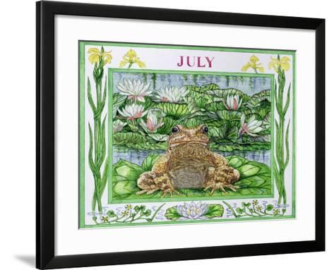 July-Catherine Bradbury-Framed Art Print
