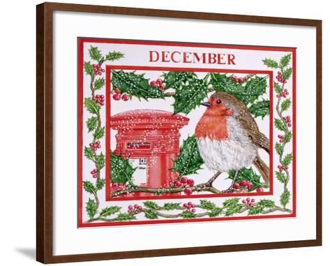 December-Catherine Bradbury-Framed Art Print