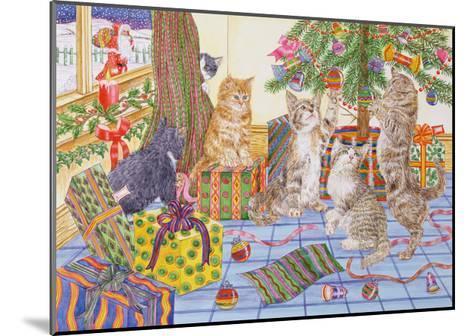 The Cats' Christmas-Catherine Bradbury-Mounted Giclee Print