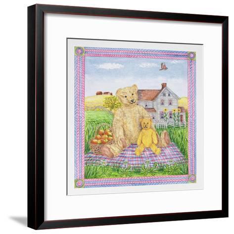The Teddy Bears' Picnic-Catherine Bradbury-Framed Art Print