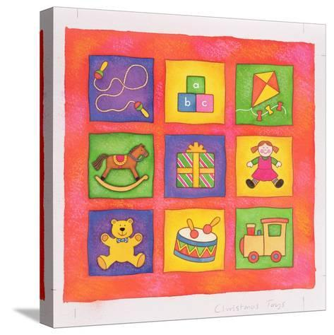 Christmas Toys-Cathy Baxter-Stretched Canvas Print