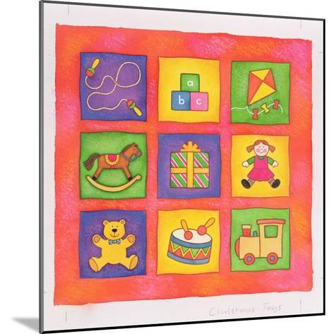 Christmas Toys-Cathy Baxter-Mounted Giclee Print