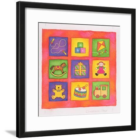 Christmas Toys-Cathy Baxter-Framed Art Print