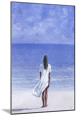 Girl on Beach, 1995-Lincoln Seligman-Mounted Giclee Print