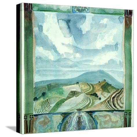 Outlook - Umbria-Michael Chase-Stretched Canvas Print