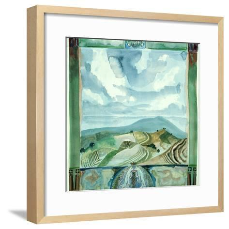 Outlook - Umbria-Michael Chase-Framed Art Print