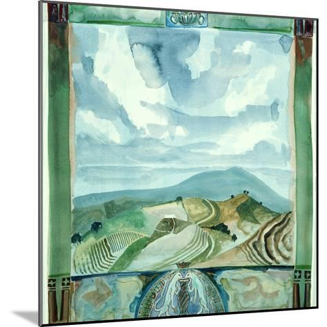 Outlook - Umbria-Michael Chase-Mounted Giclee Print