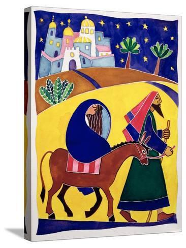 Journey to Bethlehem-Cathy Baxter-Stretched Canvas Print