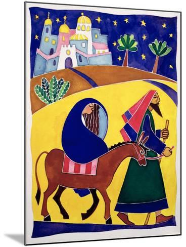 Journey to Bethlehem-Cathy Baxter-Mounted Giclee Print
