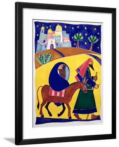 Journey to Bethlehem-Cathy Baxter-Framed Art Print