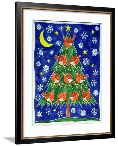 The Robin's Chorus-Cathy Baxter-Framed Art Print