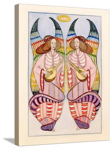 Angels-Gillian Lawson-Stretched Canvas Print