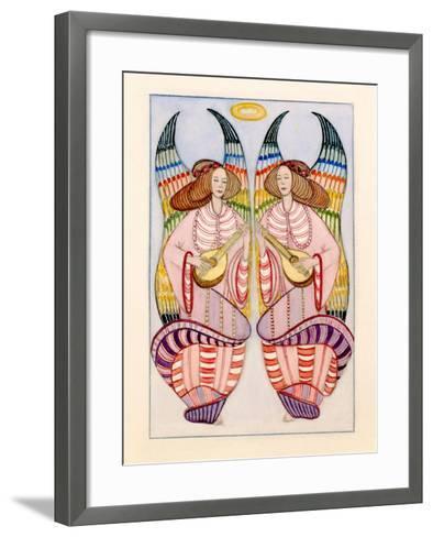 Angels-Gillian Lawson-Framed Art Print