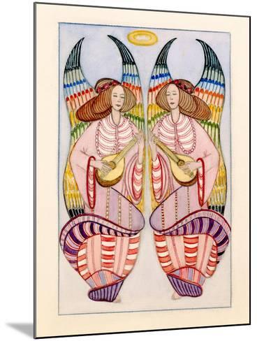 Angels-Gillian Lawson-Mounted Giclee Print