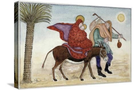 Flight into Egypt III-Gillian Lawson-Stretched Canvas Print