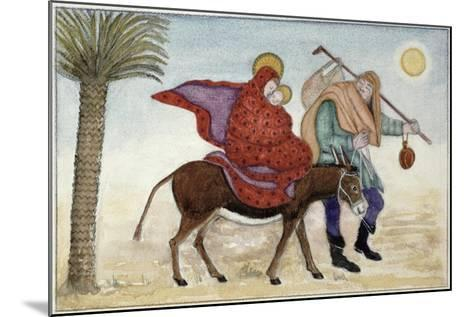 Flight into Egypt III-Gillian Lawson-Mounted Giclee Print