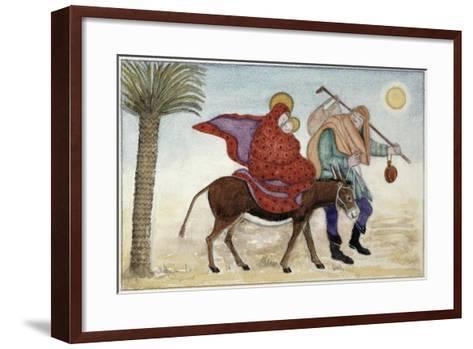 Flight into Egypt III-Gillian Lawson-Framed Art Print