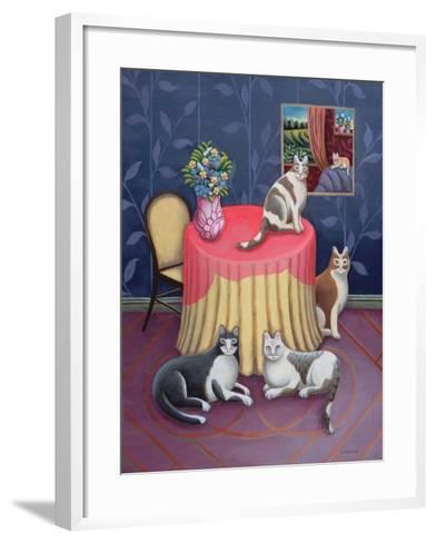 At Home-Jerzy Marek-Framed Art Print