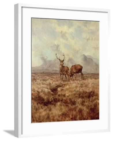 Red Stags, Ben Buie, 1982-Tim Scott Bolton-Framed Art Print