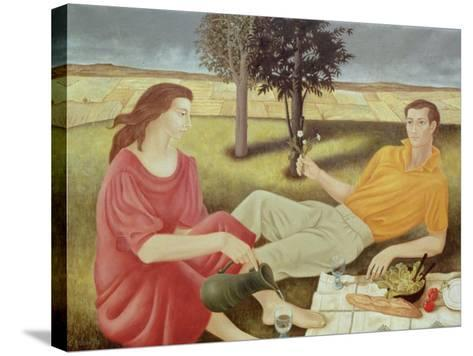 The Picnic, 1994-Patricia O'Brien-Stretched Canvas Print
