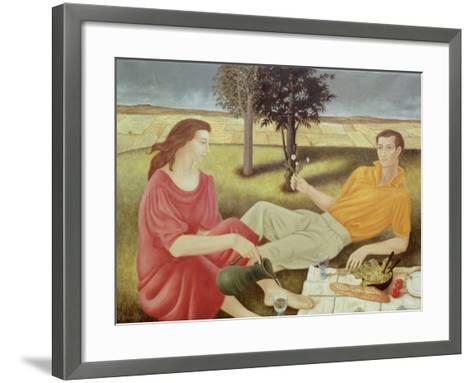 The Picnic, 1994-Patricia O'Brien-Framed Art Print