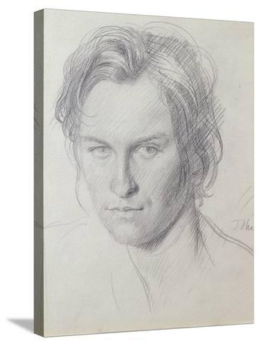 Portrait of Henry Lamb (1885-1960) C.1908-Augustus Edwin John-Stretched Canvas Print