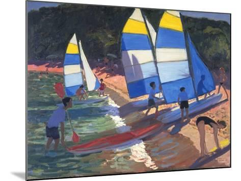 Sailboats, South of France, 1995-Andrew Macara-Mounted Giclee Print