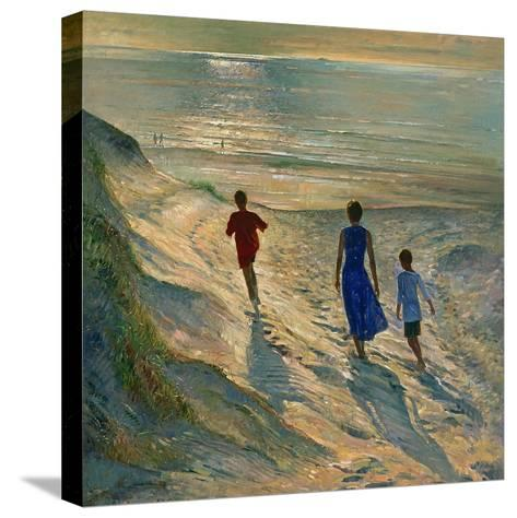 Beach Walk, 1994-Timothy Easton-Stretched Canvas Print