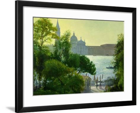 San Giorgio, Venice-Timothy Easton-Framed Art Print