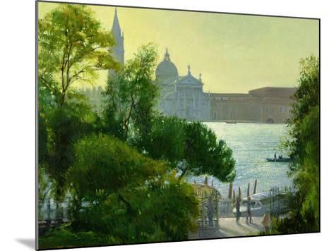 San Giorgio, Venice-Timothy Easton-Mounted Giclee Print