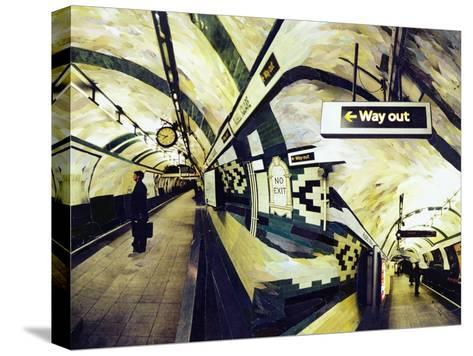 Way Out (Russell Square) 1998-Ellen Golla-Stretched Canvas Print