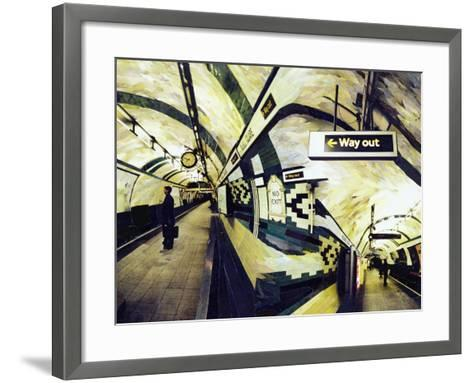 Way Out (Russell Square) 1998-Ellen Golla-Framed Art Print