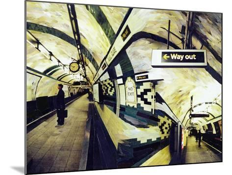 Way Out (Russell Square) 1998-Ellen Golla-Mounted Giclee Print